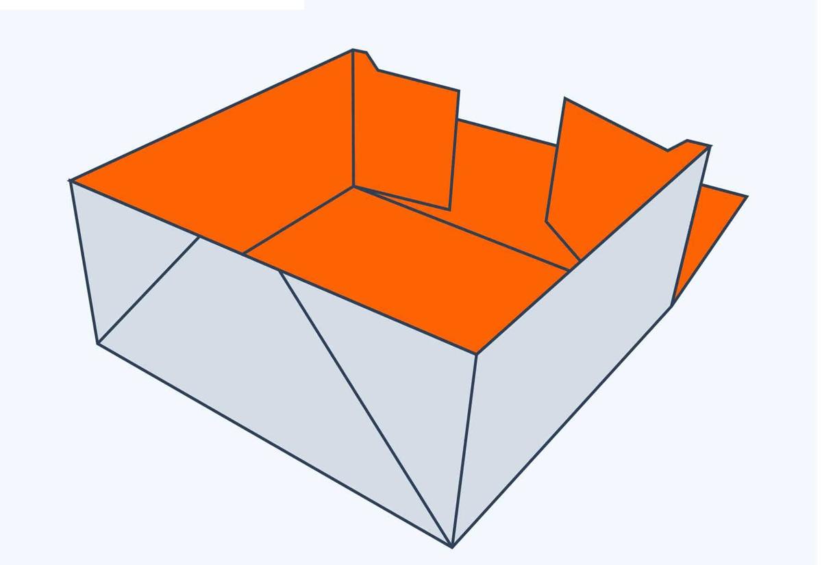 4 Corner Tray Top