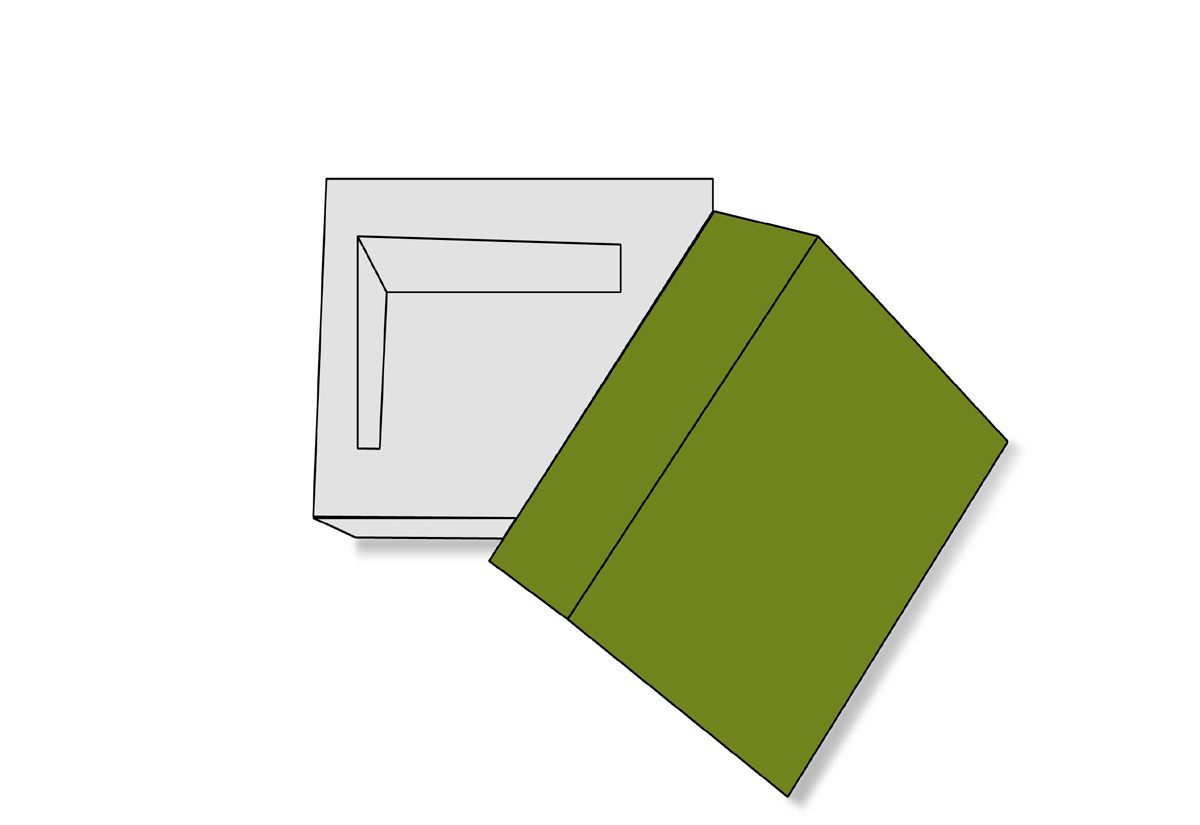 Double Wall Tray Lid